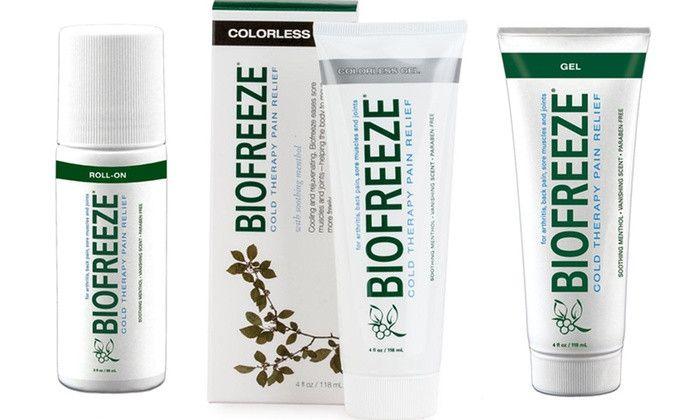 Biofreeze Pain-Relief Gel (3-Pack)