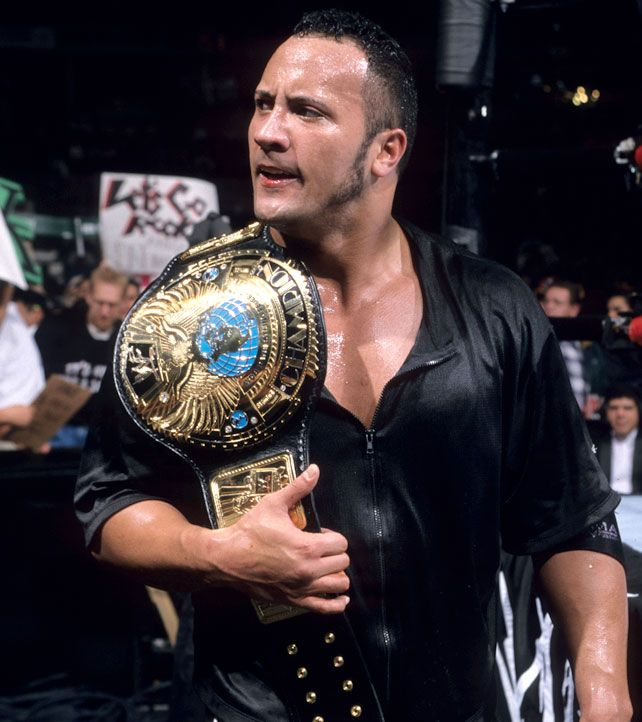 Resultado de imagen para the rock royal rumble 1999 wwe championship