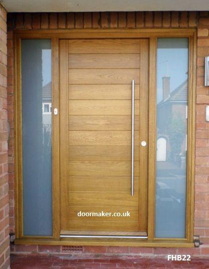 13 best modern front doors uk images on pinterest modern for Front door update ideas