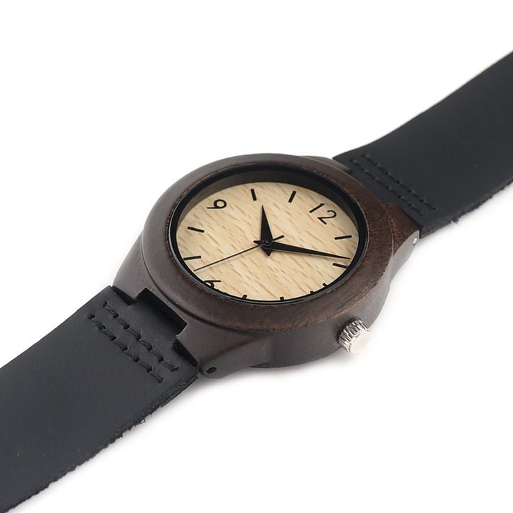 BOBO BIRD E28 Ladies Luxury Brand Womens Ebony Wooden Bamboo Wrist Watch Dress Style Female Ladies Relojes De Marca Relogio Gift - Online Shopping for Watches