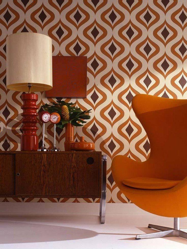 Original Vintage Tapeten : Triton Vintage Tapeten Weitere Tapeten Tapeten der 70er