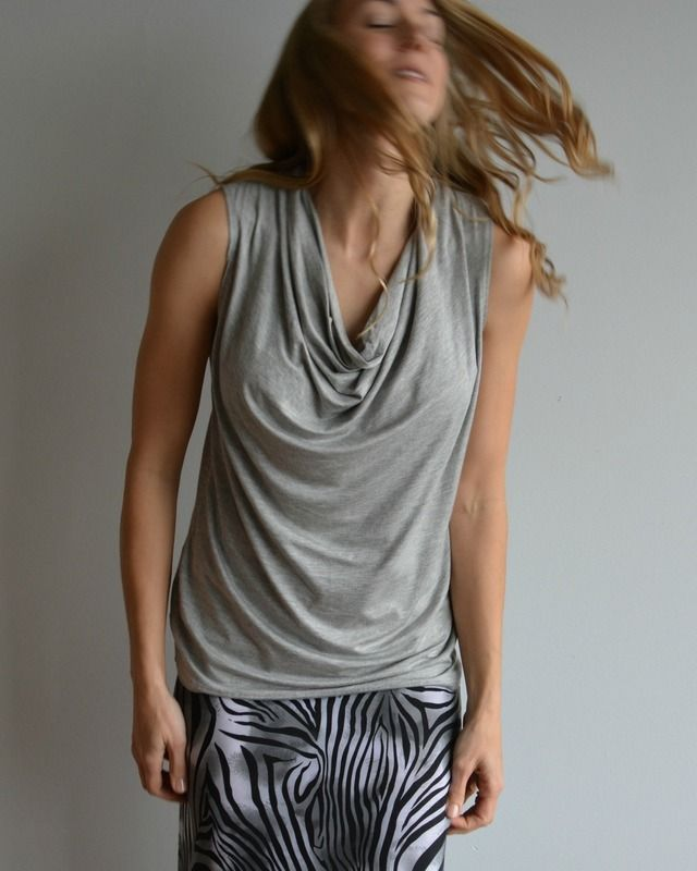 Cowl Neck Top, Dress it up or down