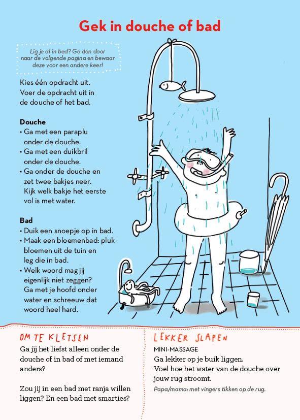 Gek in douche of bad - uit Slaapklets! voor kleuters #gezinnig