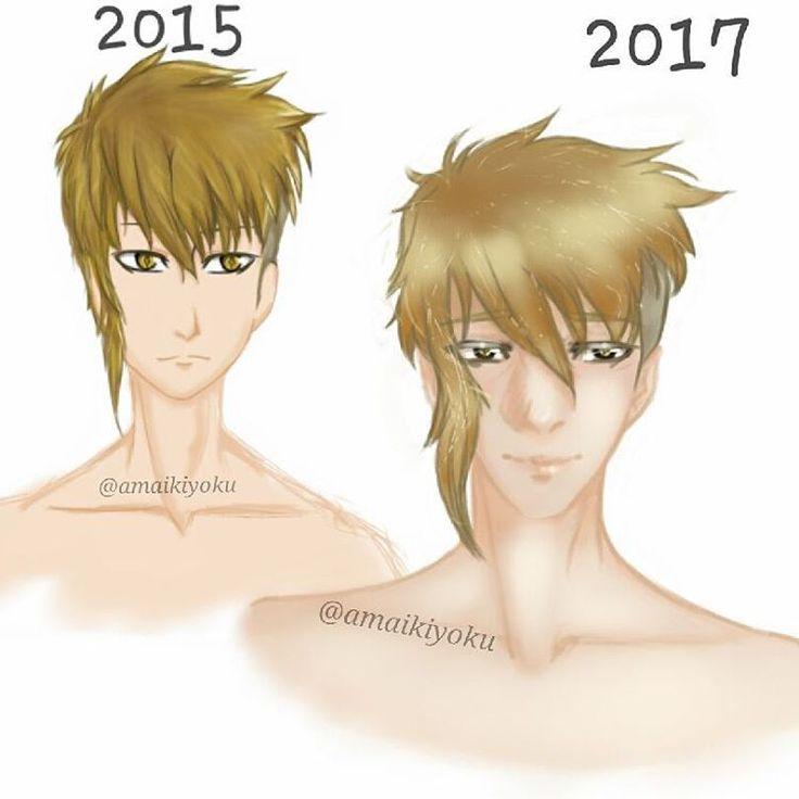 Art Improvement with my old oc #artimprovement #art🎨 #art #drawing #doodle #oc #manga #bishounen #animeboy #anime #animeart #man #twoyears #samsungnote3 #autodesksketchbook #OC