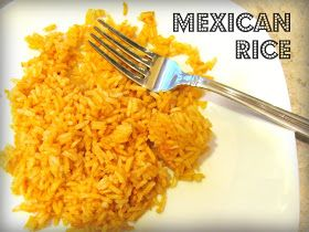 Mexicans, Rice and Recipe on Pinterest