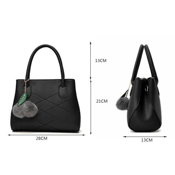Мода женщины искусственная кожа Сумка Хобо портмона Tote плеча сумка сумки | eBay