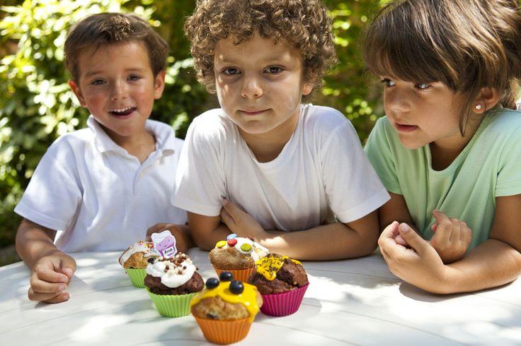 Zestaw do pieczenia muffinek Muffins & Kids - Lekue dostępny na fabrykaform.pl