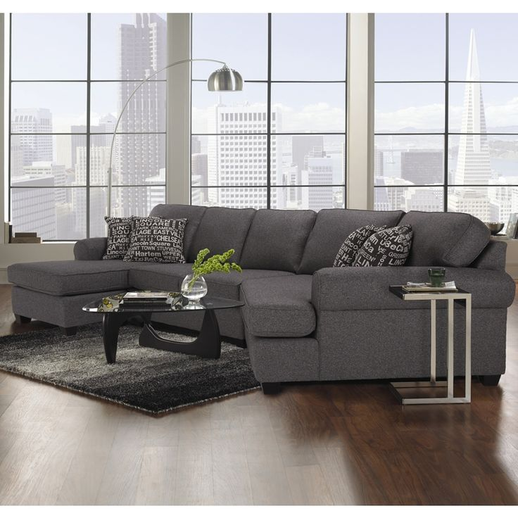 Decor Rest Furniture Sectionals 25662583 Sectional Rec Room Grey Sectional Sofa Grey