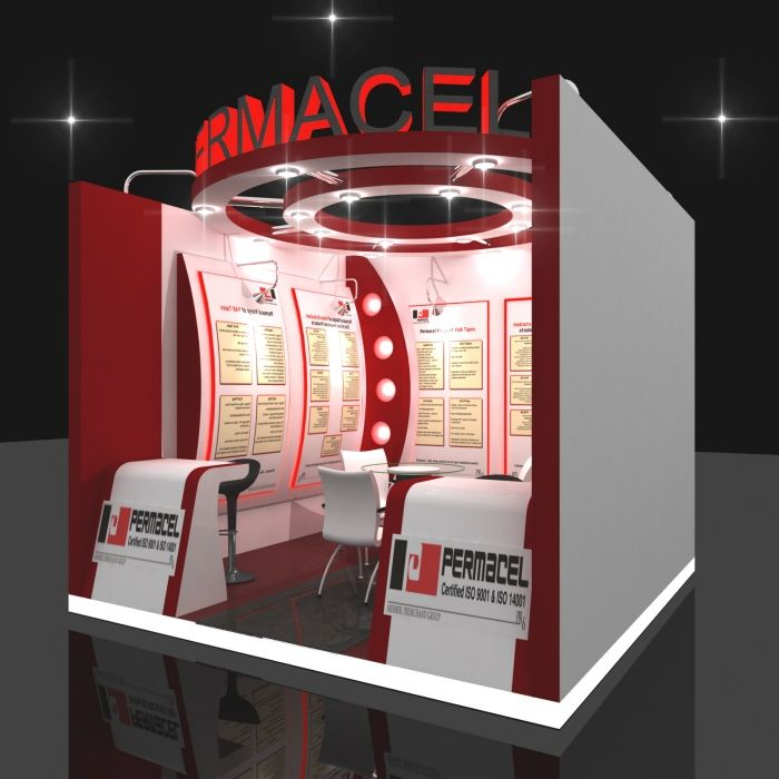 3x3 Exhibition Stand : By pranit mandavkar at coroflot stand design
