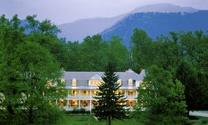 Groupon - Two-, Three, or Four-Night Stay at Balsam Mountain Inn in the Great Smoky Mountains, NC in Scott Creek. Groupon deal price: $169.00