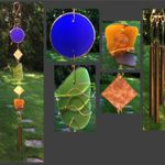 Wind Chimes, Suncatchers, Beach Glass, Sea Glass, Stained Glass, Copper, Store