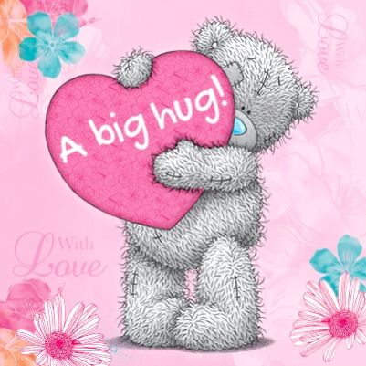 Me to You Personalised Cushion - A big Hug from Tatty