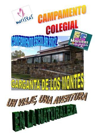 CAMPAMENTO LOZOYA - FOLLETO INFORMATIVO COMPLETO PARA LAS FAMILIAS - junio 2012