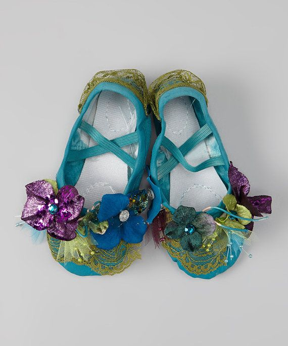 Ballet style shoes wedding shoes fairy shoes by enchantedfairyco, $59.99