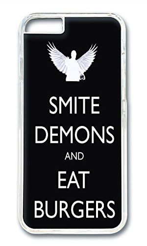 iPhone 6 Case (4.7 inch) Keep Calm And Smite Demons Funny Supernatural Phone Case Custom Transparent Polycarbonate Hard Case For Apple iPhone 6 (4.7 inch) Phone Case Custom http://www.amazon.com/dp/B014S9RX94/ref=cm_sw_r_pi_dp_3yVkwb1BMFTJZ