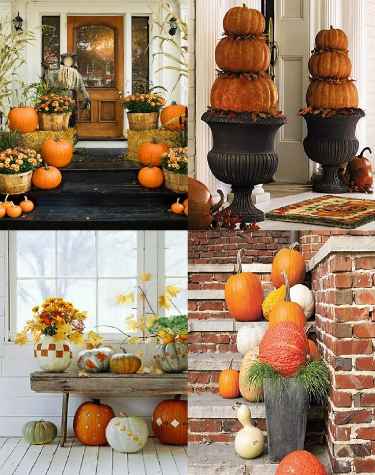 Creative Interiors Youu0027ll Love This Place Fall Outdoor Decor