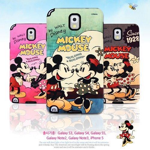 [Samsung Galaxy Note 3 Case] Disney Classic Silicone Bumper Case/Genuine/Gift!! #SamsungGalaxyNote3Case