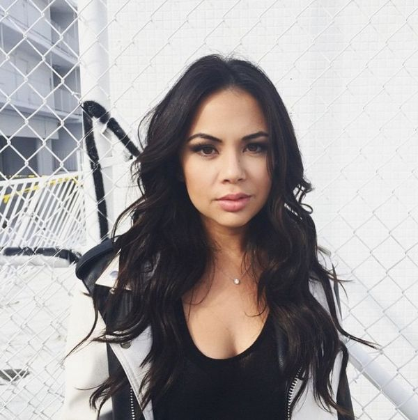 Janel's curls are the perfect match with her outfit! | Pretty Little Liars