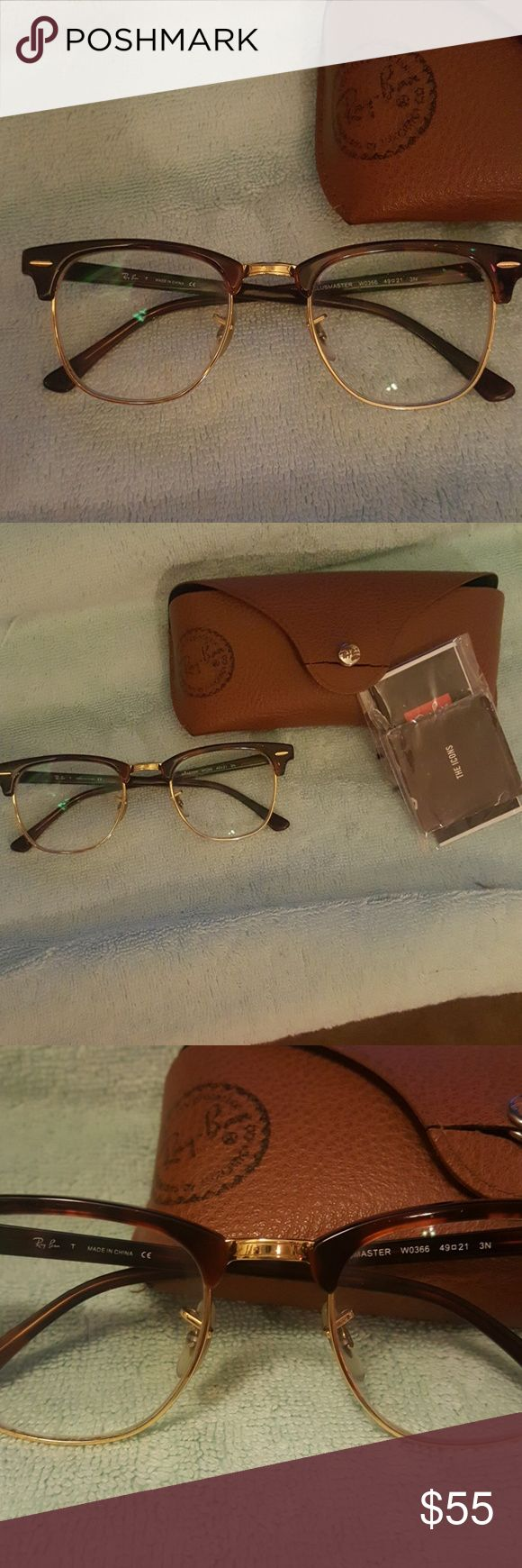 Ray Ban Frames Frames (prescription lenses) with case. Ray-Ban Accessories Glasses