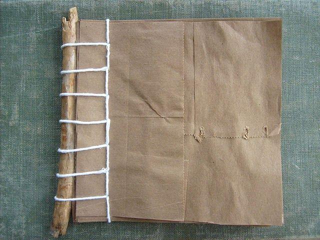 twig notebooks: Notebooks Ceremony, Twig Notebooks, Book Art, Bookart, Notebooks Logan, Bookbinding Papercraft, Notebooks 3, Notebooks Favor