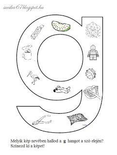 Játékos tanulás és kreativitás: Kisbetűkben képek a hangfelismerés gyakorlásához