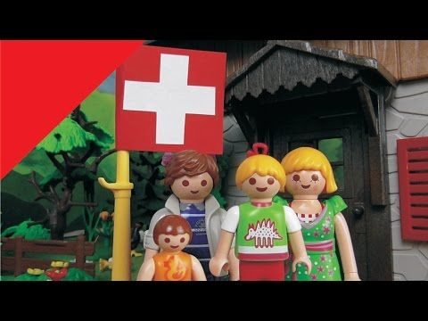 Playmobil Film deutsch Familie Hauser in der Schweiz / Kinderfilm / Kind...
