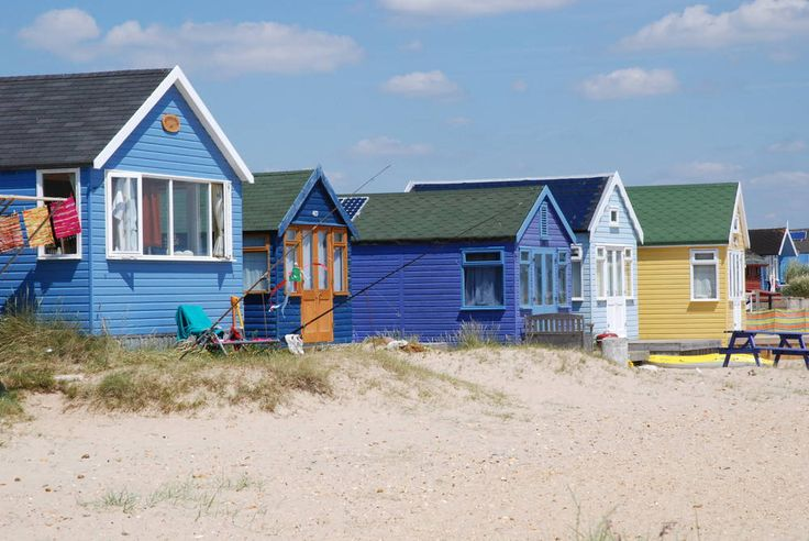 Mudeford Beach Huts - Bournemouth
