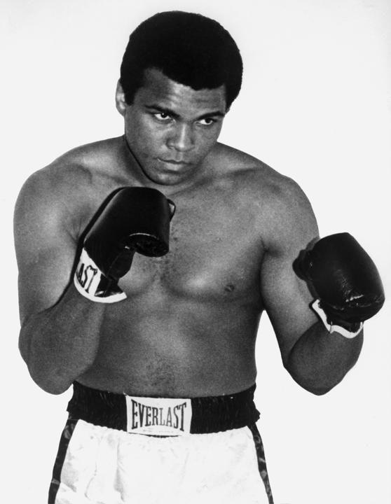 Cassius Clay( Muhammad Ali)