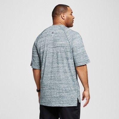 Men's Big & Tall Henley T-Shirt - C9 Champion - Forest Grove Heather 3XBT