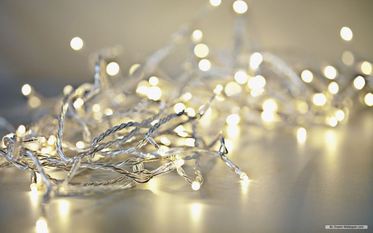All White Christmas Lights | Free Holiday wallpaper - Christmas Lights 1 wallpaper - 1440x900 ...