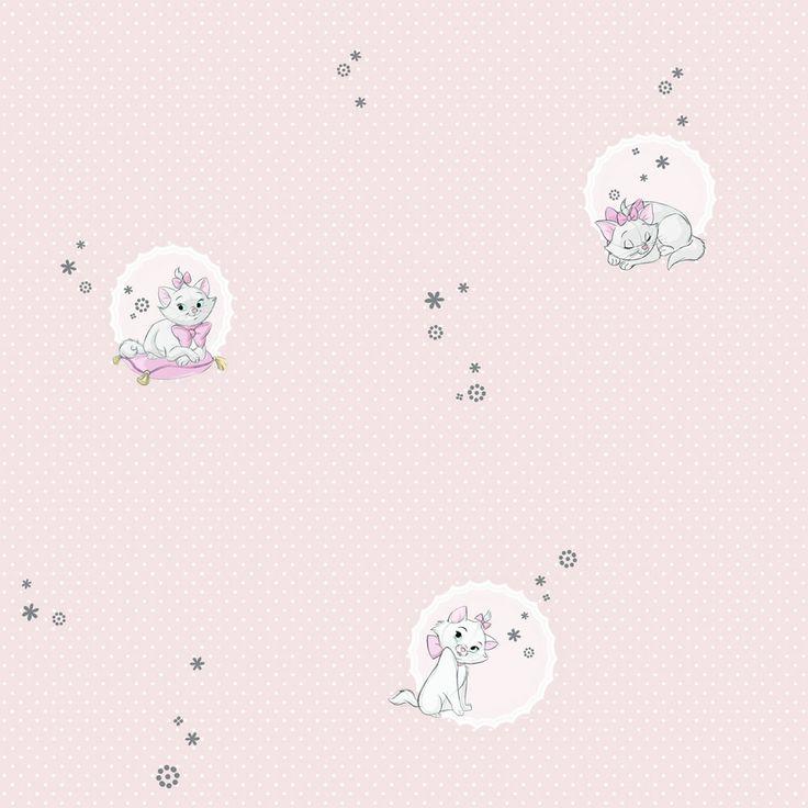 Disney Wallpaper Aristocats Pink DF11999 £12.50 Wilko