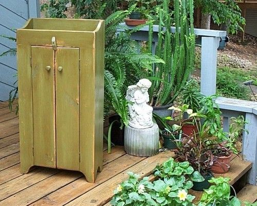 Two Door Storage Cabinet, Just right for small spaces. | BuckCreekFurnishings - Furniture on ArtFire