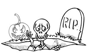 Free Printable Halloween Colouring Pages #Kids #DIY #Printables