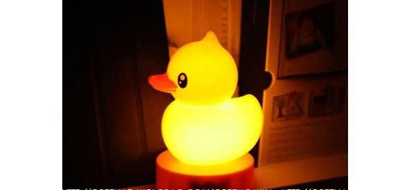 InspireLife - Yellow Duck Touch Light