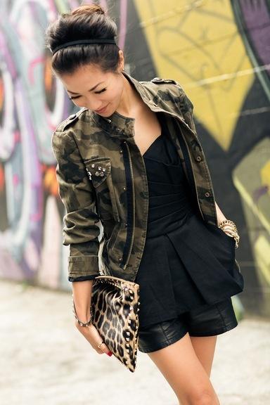 Love the camo jacket
