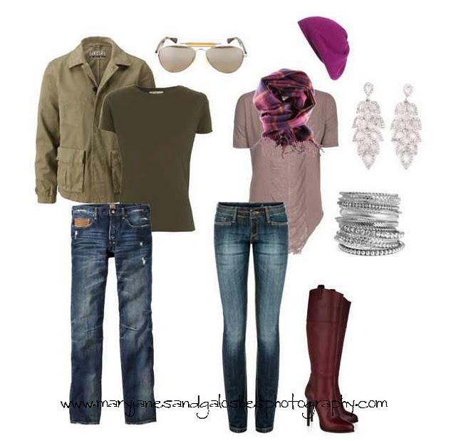 photoshoot wardrobe options