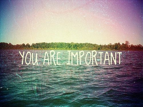 You are important - so is your recovery. Make yourself a priority. #edrecovery #SelfCare #love
