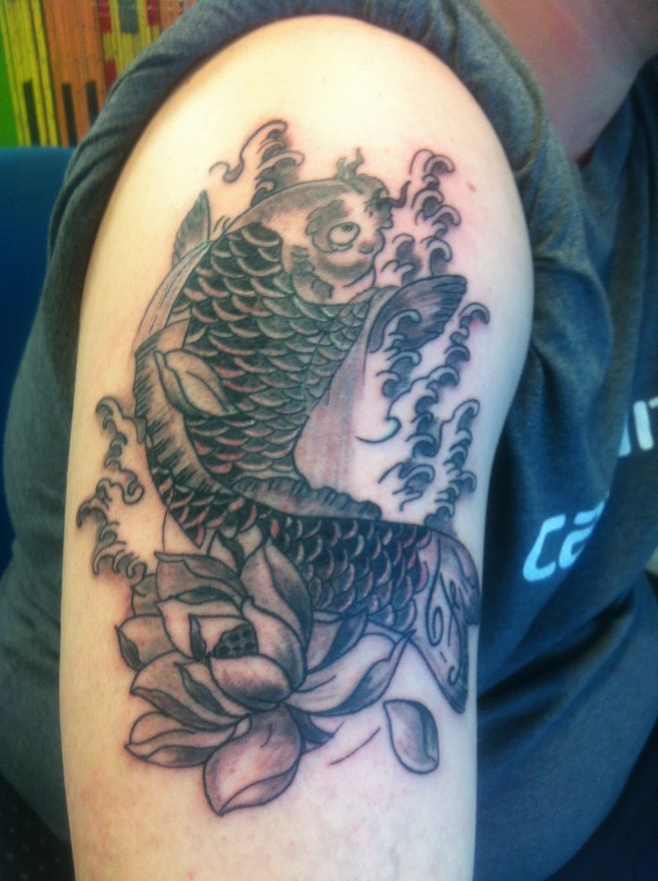 106 best images about nadia borderline tattoo studio on for Carpa koi butterfly