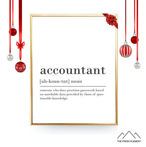 graphic about Printable Definitions identify Humorous Accountant Definition Print Printable Electronic Artwork