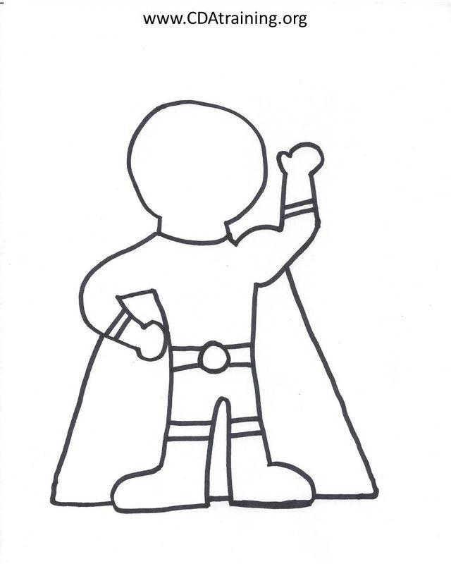 Superhero Blank Template Google Search Superhero Kindergarten Superhero Preschool Superhero Theme