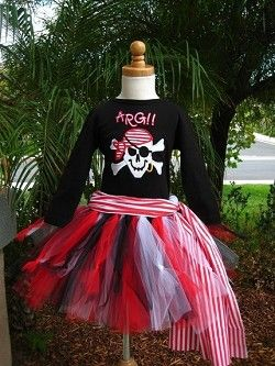 Pirate tutu - Alyssa would like this