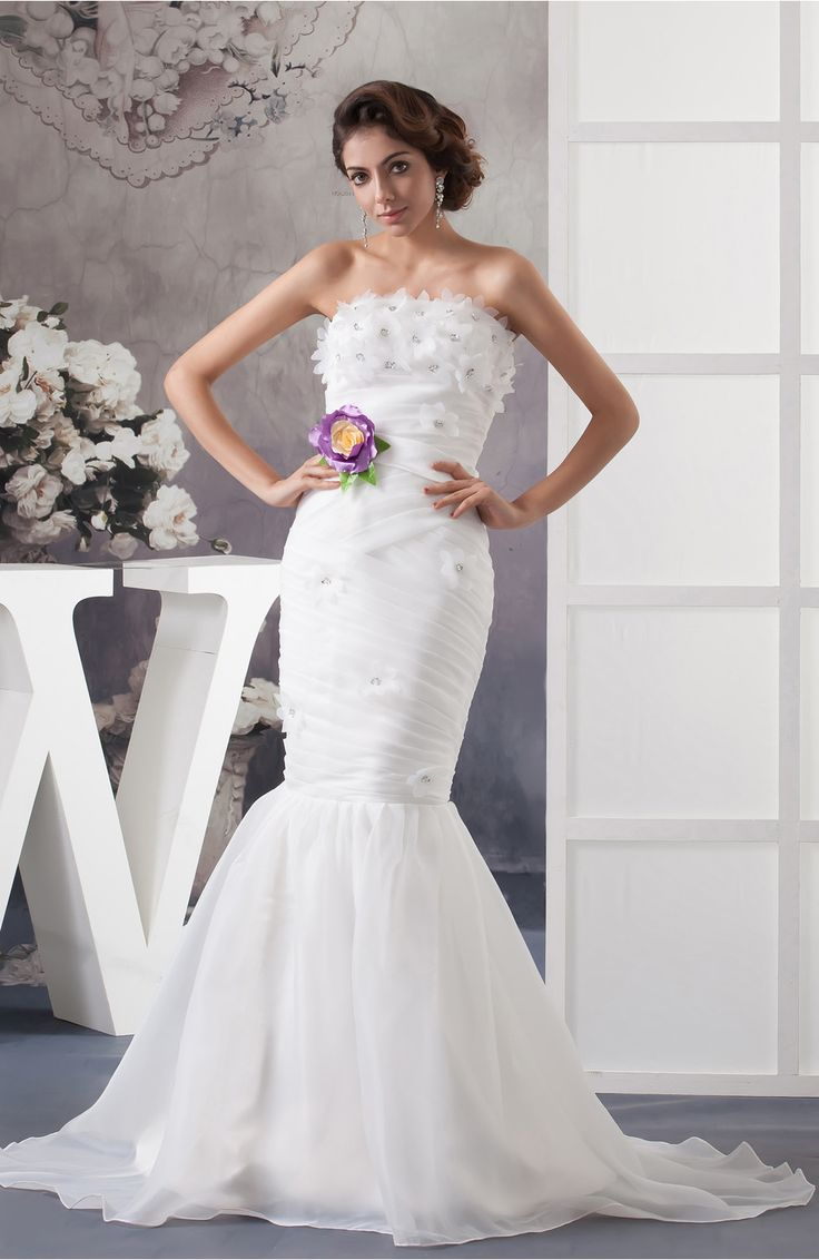 Christmas wedding dress zipper - Mermaid Bridal Gowns Allure Winter Elegant Backless Summer Country Simple