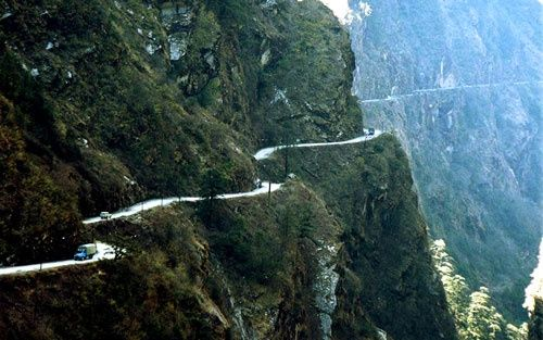 Road to Sagada in the Philippines