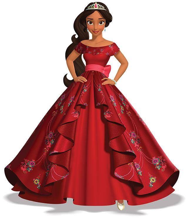 """E teremos uma princesa da Disney """"usando"""" um vestido assinado por uma estilista brasileira! Layana Aguilar, radicada em Nova York, foi selecionada para vestir a primeira princesa latina, a princesa Elena de Avalor."""