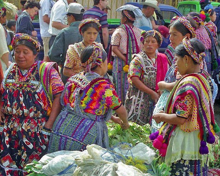 Almolonga market - San Pedro de Almolonga, Quetzaltenango