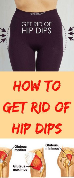 How to get rid of hip dips FAST & EASY