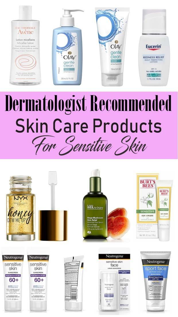 Best Face Skin Care Products For Sensitive Skin In 2020 Sensitive Skin Care Recommended Skin Care Products Face Products Skincare