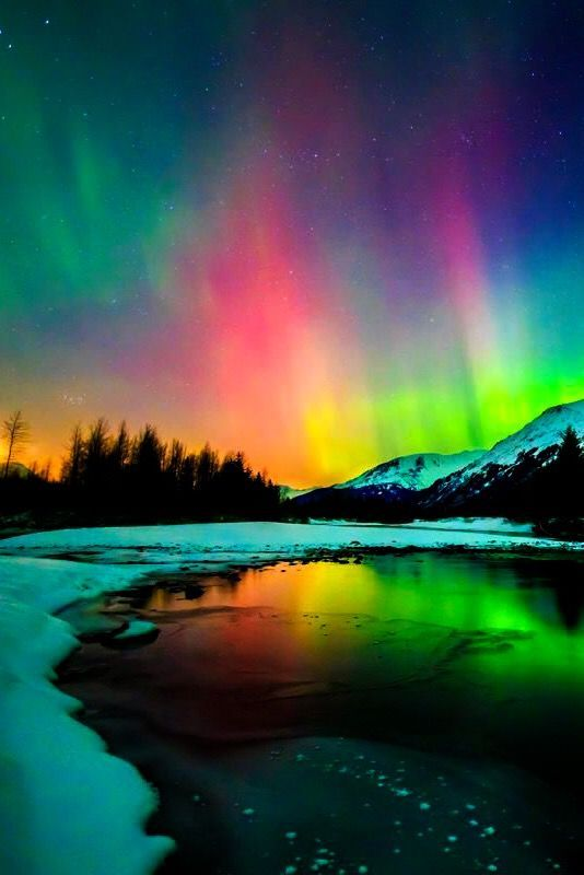 Aurora Borealis / Northern Lights - #Aurora # ...