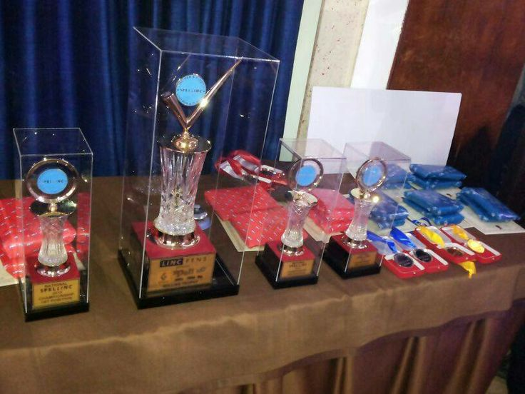 Renault Spellinc National Finale Trophies — at The Park Hotel.