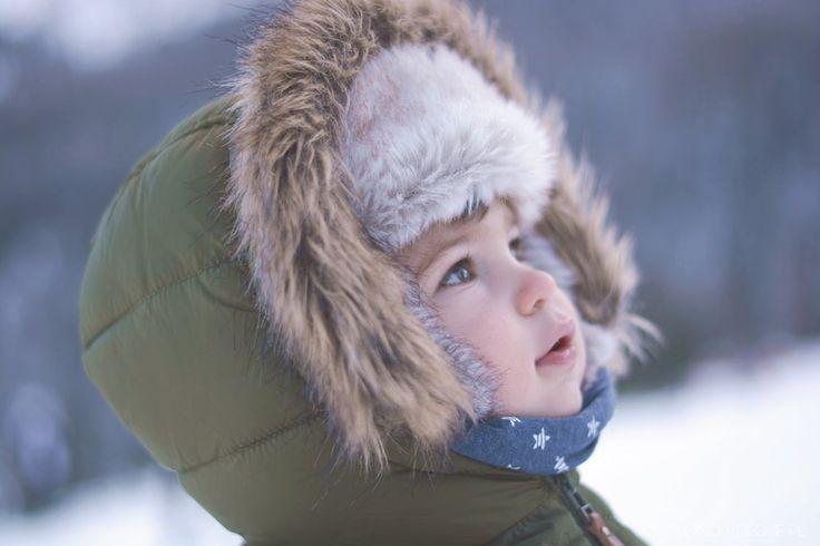 zima, dolomity, sesja zimowa dziecka